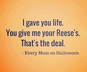 Halloween and reese's image