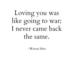 quotes, war, and love image