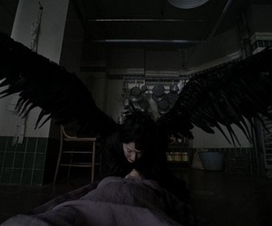 american horror story, death, and asylum image