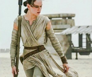 rey, star wars, and daisy ridley image