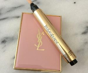 makeup, YSL, and luxury image