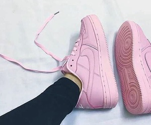 fashion, pink, and shoes image