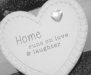 home, laughter, and love image