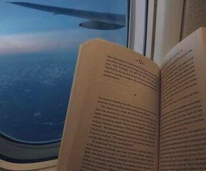 airplane, bookworm, and inspiration image
