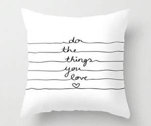 pillow, quotes, and white image