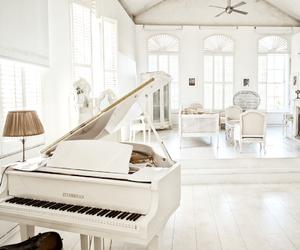 cozy, piano, and decor image