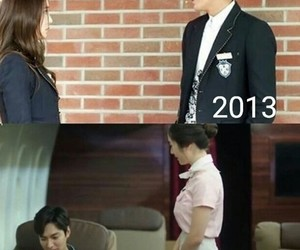 lee min ho, krystal, and the heirs image