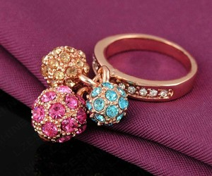 accessory, ring, and anel image