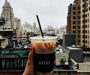 city, coffee, and brown image