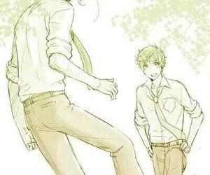 anime, aph spain, and boy image