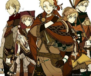 anime, hetalia, and aph norway image