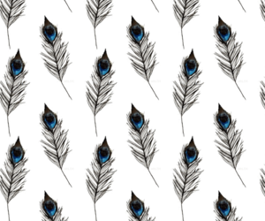 android, background, and feather image