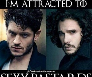 game of thrones, jon snow, and iwan rheon image