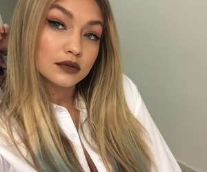 gigi hadid, model, and hair image