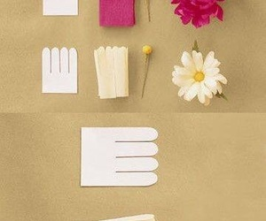 flowers, diy, and Paper image