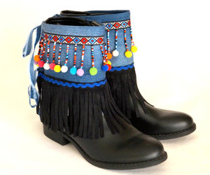etsy, boot covers, and boot socks image