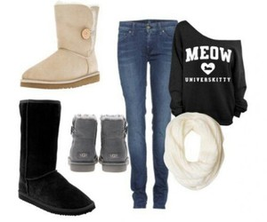 outfits, winter outfits, and outfits invierno image