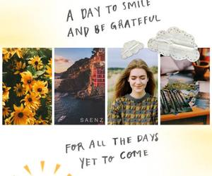 day, grateful, and smile image