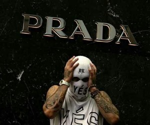 Prada, tattoo, and tumblr image