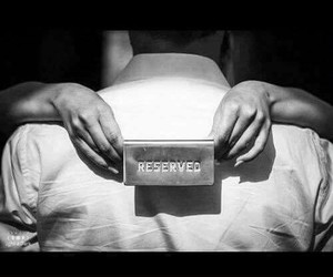 only mine, love, and reserved image