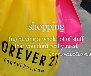 forever 21, shopping, and Victoria's Secret image