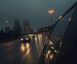 grunge, lights, and night image