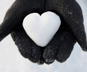 gloves, hands, and heart image