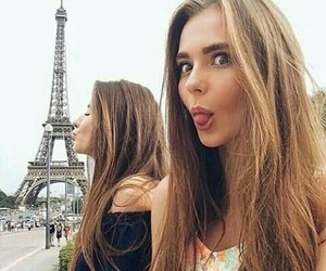 paris, friendship, and travel image