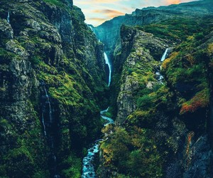 adventure, mountains, and places image
