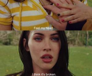 megan fox, broken, and movie image