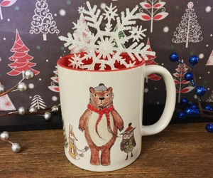 bears, coffee mug, and etsy image