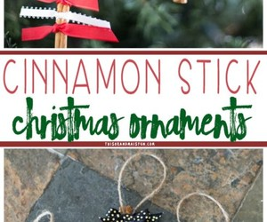 christmas ornaments, crafts, and diy image