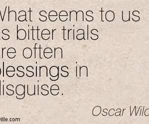 oscar wilde, quotes, and trials image