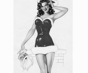 christmas, dress, and santa image