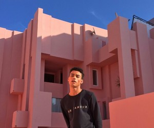 pink, boy, and reece king image