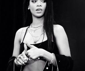 rihanna, black, and celebrity image