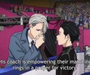 anime, yuri on ice, and victor nikiforov image