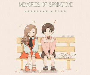 kpop, sinb, and jeonghan image