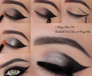 black, diy, and eyebrows image