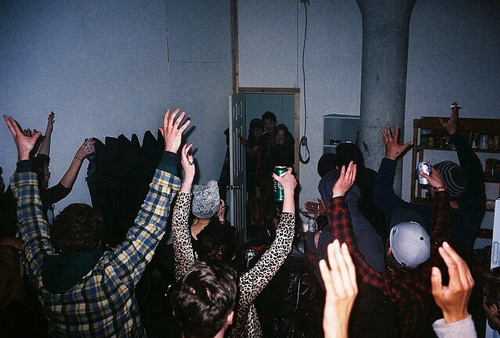 party, grunge, and night image