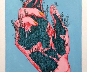 art and hand image