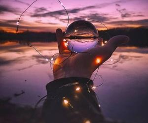 beautiful place, lights, and magic image