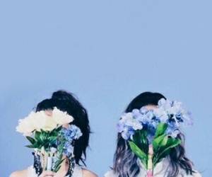 aesthetic, baby blue, and alternative image