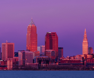 city, cleveland, and photography image
