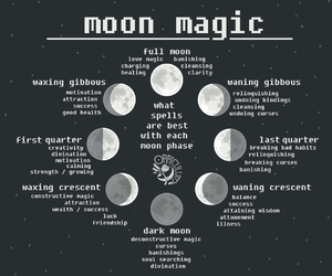 magic and moon image