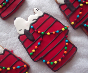 christmas, snoopy, and Cookies image