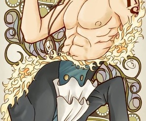 one piece, sabo, and ace image