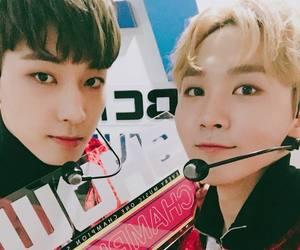 Seventeen, wonwoo, and seungkwan image