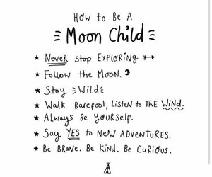 moon, child, and wicca image
