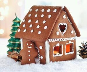 christmas, gingerbread, and food image